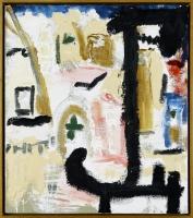 1988, Öl auf Leinwand, 75,5 x 65,5 cm