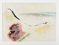 39 x 54 cm, Aquarell, Tusche, Wachs, 1959