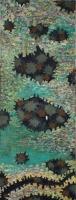 Öl auf Leinwand, 340 x 110 cm