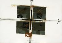 1994, Kohle, Acryl auf Karton, 100 x 70 cm