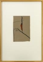 16 x 24 cm, Ölkreide auf Papier, 1994, signiert
