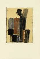 1983, 4 Arbeiten, Gouache auf Papier, 30 x 40 cm