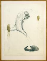 1989, Kohle auf Papier, 73 x 94 cm