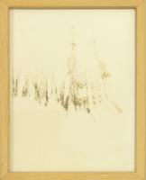 1994, Pfeifenteer auf Papier, 11 x 14 cm