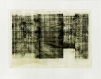 Öl auf Holz, 57 x 43 cm (mit Entwurfszeichnung, Tusche, Papier, 42 x 30cm)