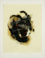 1994, Öl auf Papier, 50 x 63 cm