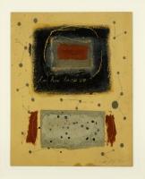 Collage, Öl, Bleistift, 25 x 31,5 cm
