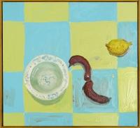 77 x 72 cm, Öl auf Leinwand