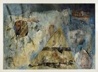 1993, Tusche, Acryl auf Papier, 100 x 142 cm