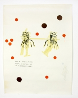 Klebeband, Gouache, Kohle auf Papier, 150 x 210 cm