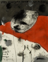 1993 Öl auf Leinwand 84 x 110 cm