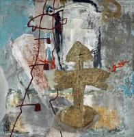 1994, BZ 466, Öl auf Leinwand, 138 x 178 cm